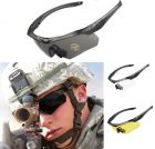ANSI Z87.1 Combat Tactical Military Ballistic Shooting Sunglasses With 3 Lenses And Hard Case