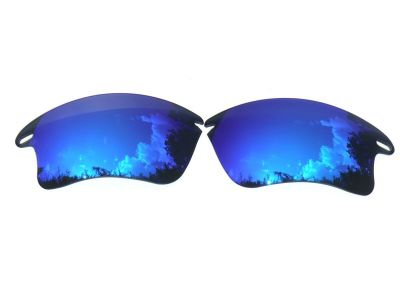 d5daf2cbf1d Buy Galaxylense replacement for Oakley Fast Jacket XL Blue Online ...