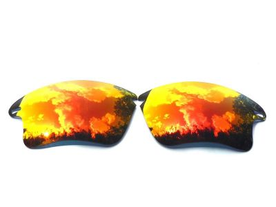 f3e4ed6f142 Buy Galaxylense replacement for Oakley Fast Jacket XL Red Online ...