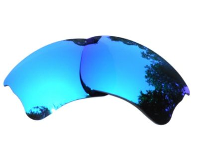 Galaxy Replacement For Oakley Flak Jacket XLJ Ice Blue Color Polarized