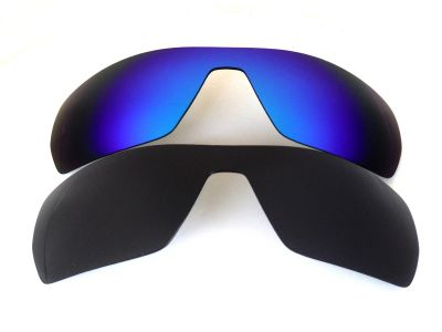 Galaxylense replacement for Oakley Antix Black&Blue