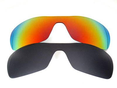 Galaxylense replacement for Oakley Antix Black&Red Polarized 2 Pairs
