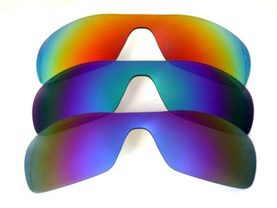 Galaxylense replacement for Oakley Antix Purple&Blue&Red Polarized 3 Pairs