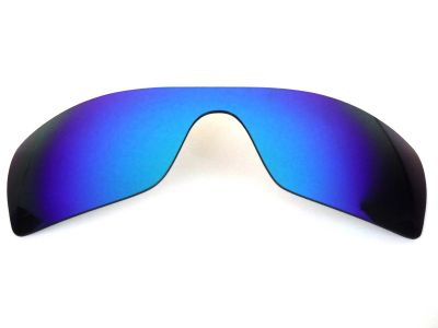616badb26d Buy Galaxy Replacement Lenses For Oakley Batwolf Blue Polarized 100 ...