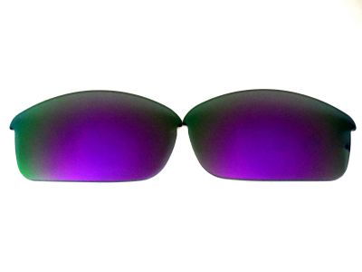 Galaxylense replacement for Oakley Flak Jacket Purple