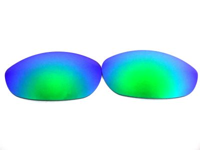 Galaxylense replacement for Oakley Monster Dog Green color