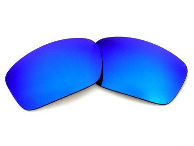 Galaxylense replacement for Oakley Scalpel Blue color