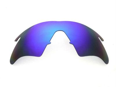 94724392fa Galaxy Replacement Lenses For Oakley M Frame Heater Blue Color Polarized