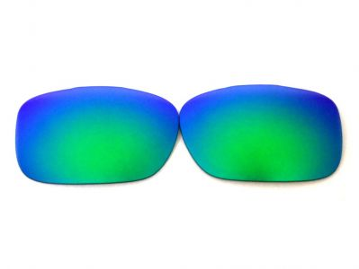 eb4530aba15 Buy Galaxy Replacement Lenses For Oakley Twoface Green Color ...
