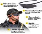 ICE E SS Military Tactical Sunglasses Polarized Anti UV 3 Lenses With Optical Holder And Hard Case