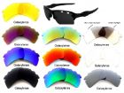 Galaxy Replacement  Lenses For Oakley Flak 2.0 XL Vented 10 Color Pairs