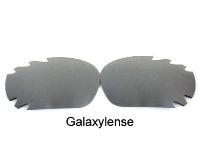 Galaxylense replacement for Oakley Racing Jacket Gray color