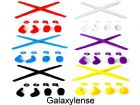 Galaxy Replacement Nose Pads & Earsocks Rubber Kits For Oakley Juliet,Penny,Romeo 1.0,Mars,X Metal XX,X Squared 6 Color Pairs