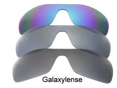 Galaxylense replacement for Oakley Antix Black&Gray&Green Polarized 3 Pairs