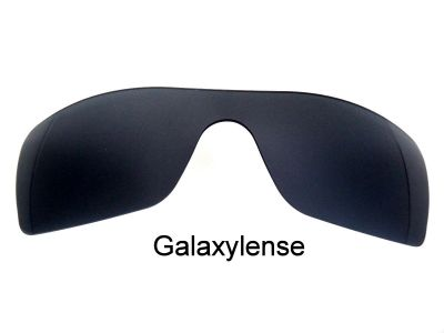 Galaxylense replacement for Oakley Batwolf Black Color Polarized 100% UVAB