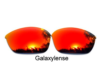 Galaxy Replacement Lenses For Oakley Half Jacket 2.0 Red Color Polarized