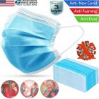 50 Pcs Medical Health Safety Protective Face Mouth Mask 3 Layers Protection In Stock Blue Color